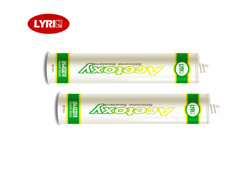 Fast Curing Structural Transparent Acetoxy Cure Silicone Sealant
